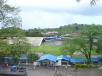 The Andres Soriano Colleges (formerly ASI) taken from the hill where the church is. Courtesy of Mike L./ NZP