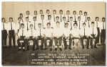 This must be the 1966 Student Body of the St. John Bosco Technical School.  Courtesy of Lou Polina