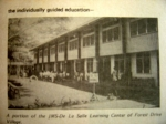 JMS - De La Salle learning centre in Forest Drive Village, Coleto.  Courtesy of Zola P.
